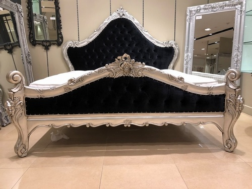 The Charles Bed - Silver Leaf Beds