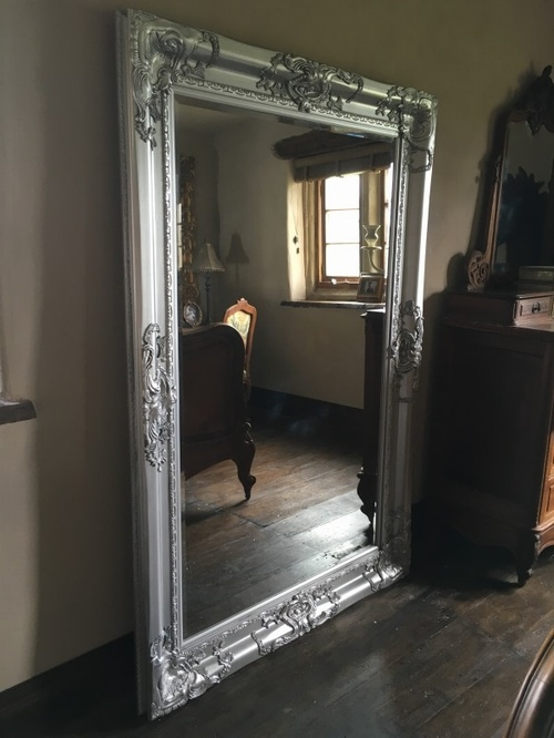 The Chateau - True Silver: Available in Sizes Ranging from 4Ft x 3Ft up to 7Ft x 4Ft Mirrors > Silver Mirrors