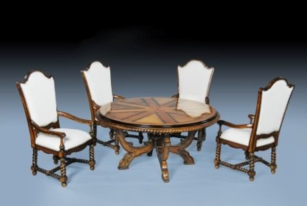 The Jacobean Dining Set Dining Room > Dining Set