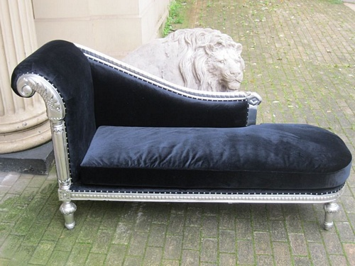 The Federal Chaise Longue: Silver Leaf Seating > Chaise Longue