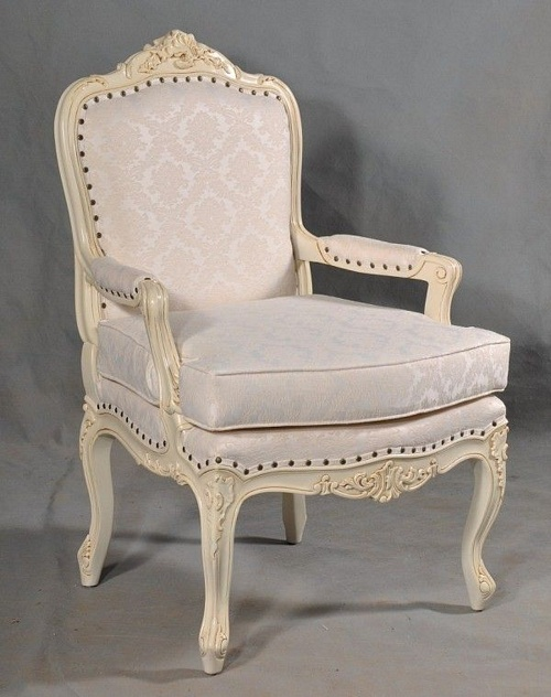 The Bergere Chair: Antique White Seating > Chairs - The Bergere Chair: Antique White £389.00 - Seating - Chairs Chateau