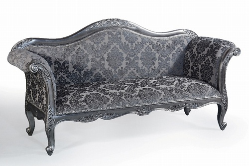 Ordinaire The Belfort Sofa: Antique Silver U0026 Grey Damask £679.00   Seating   Sofas  Chateau Luxury Furniture And Mirrors, Rococo, Reproduction, Antique, ...