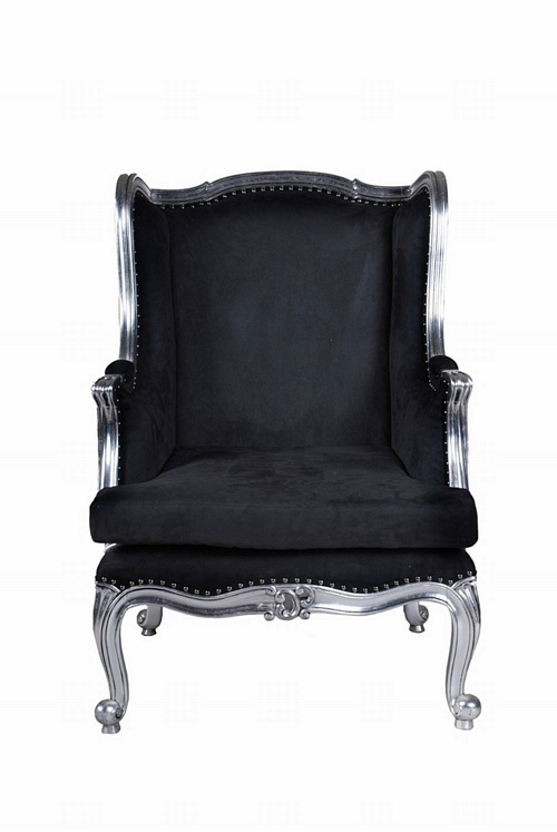 The Wingback Chair: Silver Leaf Seating > Chairs