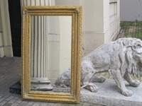 The Valencia - Antique Gold Mirror: Available in Sizes Ranging from 4Ft x 3Ft up to 7Ft x 4Ft