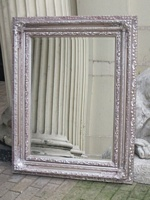 The Valencia - Antique Silver Mirror: Available in Sizes Ranging from 4Ft x 3Ft up to 6Ft x 4Ft