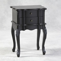 Versailles Black French Side Table.