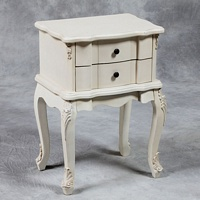 Versailles Antique White French Side Table.