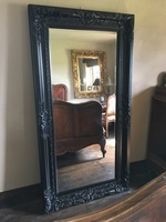 The Chateau - Matt Black: Available in Sizes Ranging from 4Ft x 3Ft up to 7Ft x 4Ft