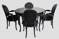 The Parisian Noir Dining Set