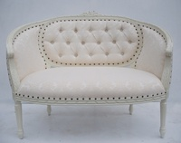 The Double Loveseat - Antique White