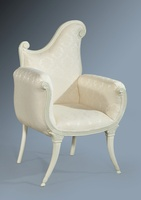 The Florence Chair: French White