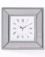 Venetian Pearled Style Edge 'Mayfair' Wall Clock